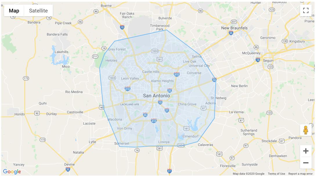 San Antonio Service Area